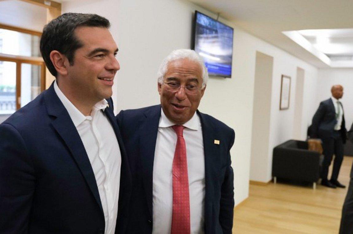 Τσίπρας: Συμφωνήσαμε με τον Πορτογάλο πρωθυπουργό να στηρίξουμε τον Τίμερμανς