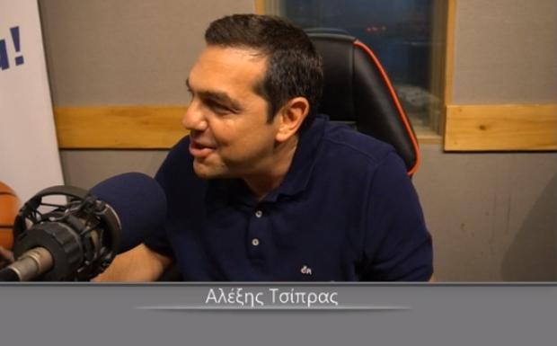 LIVE: Ο Αλέξης Τσίπρας στον Sport24 Radio 103,3