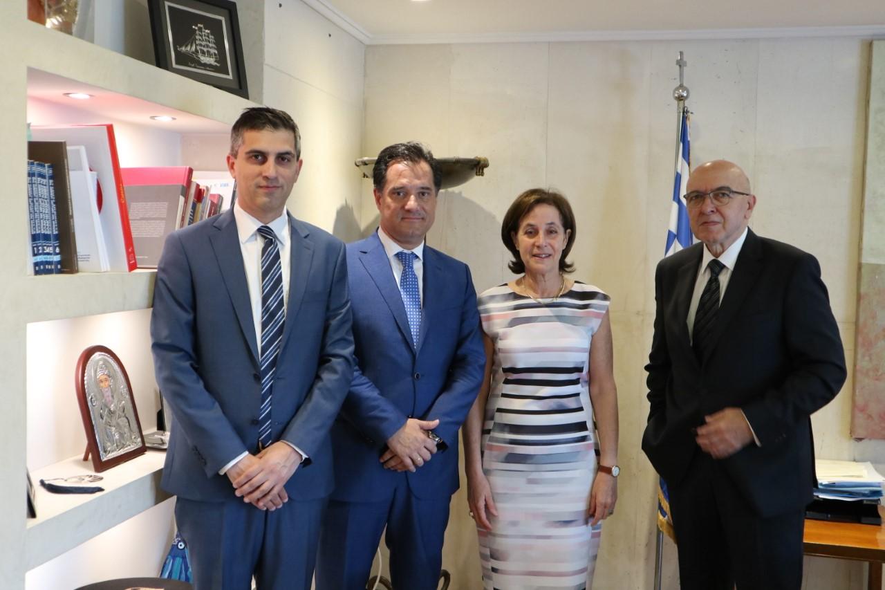 Συνάντηση Γεωργιάδη-Δήμα-Φραγκογιάννη με την πρέσβη του Ισραήλ, Irit Ben-Abba Vitale