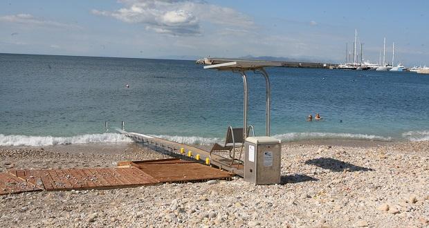 Σύστημα πρόσβασης «SEATRAC» στην παραλία Βοτσαλάκια για τα άτομα με αναπηρία από τον Δήμο Πειραιά