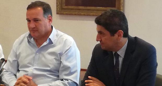 Ο Λ. Αυγενάκης παρευρέθηκε στην Ολομέλεια της Ελληνικής Ολυμπιακής Επιτροπής