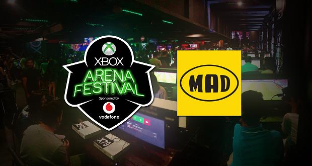 Το Mad σχεδίασε & υλοποίησε το Xbox Arena Festival sponsored by Vodafone
