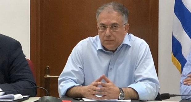 Δηλώσεις του ΥΠΕΣ Π. Θεοδωρικάκου μετά τη σύσκεψη για τη φυσική καταστροφή στη Χαλκιδική
