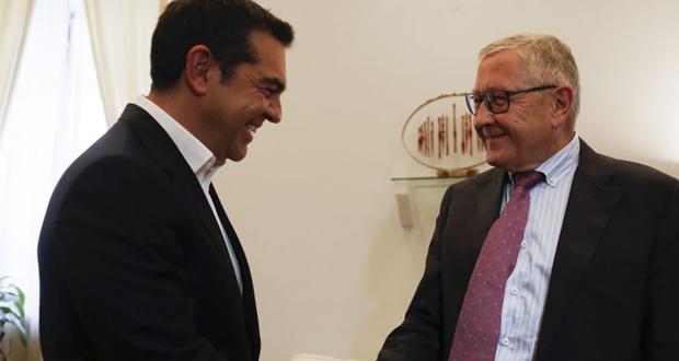 Τσίπρας: Θα στηρίξουμε σοβαρή προσπάθεια για μείωση των στόχων των πρωτογενών πλεονασμάτων – Κλ. Ρέγκλινγκ: Η Ελλάδα πρέπει να τηρήσει τους στόχους των πλεονασμάτων