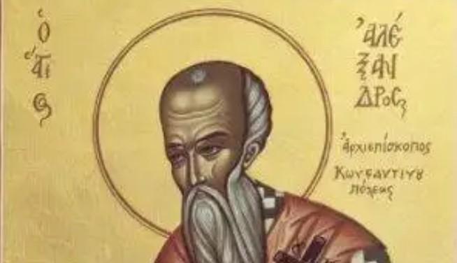 Άγιος Αλέξανδρος, «ἀποστολικοῖς χαρίσμασι λαμπρυνόμενος»