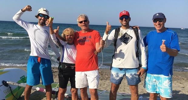 H 81χρονη windsurfer Αναστασία Γερολυμάτου έγραψε Ιστορία και κατάφερε να κάνει τον διάπλου της Κεφαλονιάς…