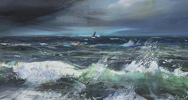 Έκθεση ζωγραφικής: «Θαλάσσιοι Τόποι» της Μαρίας Κτιστοπούλου
