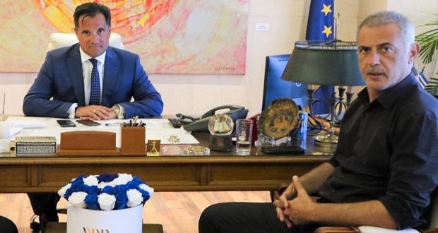 Μπαράζ συναντήσεων Μώραλη με υπουργούς