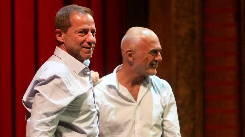 Εθνικό Θέατρο: Ο Λιβαθινός παρέδωσε την καλλιτεχνική διεύθυνση στον Λιγνάδη