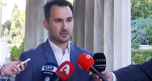 Αλ. Χαρίτσης: Οι εξαγγελίες Τσίπρα στη ΔΕΘ του 2018 υλοποιήθηκαν μέχρι κεραίας – Αναμένουμε να δούμε τί θα κάνει η κυβέρνηση Μητσοτάκη (ηχητικό)