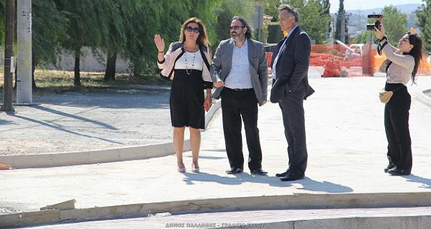 Δήμος Παλλήνης: Εντός διμήνου η ολοκλήρωση του κόμβου Έβρου και Τρικάλων – Επίσκεψη Γενικού Γραμματέα Υπουργείου Περιβάλλοντος και Ενέργειας, Ευθύμιου Μπακογιάννη