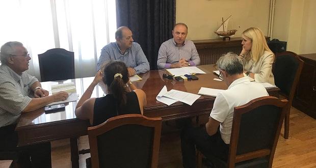 Συνάντηση της Υφυπουργού ΑΑ&Τ, κ. Φωτεινής Αραμπατζή, με το ΔΣ του Πτηνοτροφικού Συνεταιρισμού «Πίνδος»