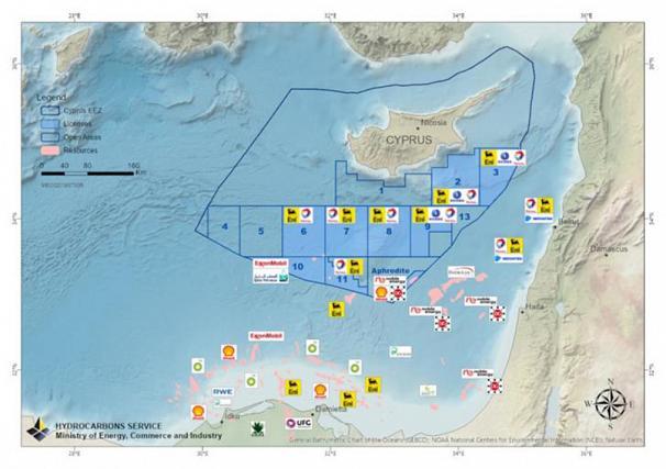 Κυπριακή ΑΟΖ: «Έπεσαν» οι υπογραφές με TOTAL-ENI για το τεμάχιο 7