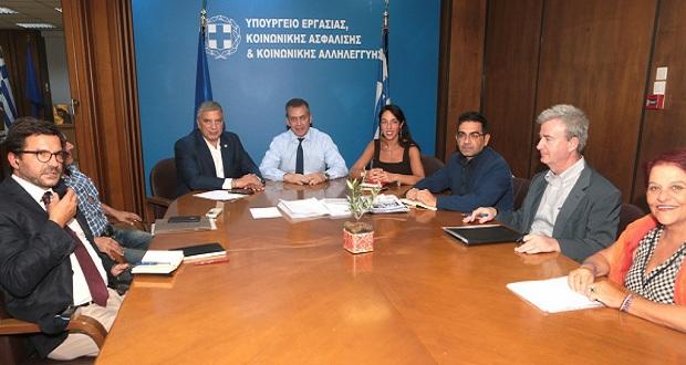 Η επανεκκίνηση του ΤΕΒΑ στην ατζέντα διευρυμένης σύσκεψης Περιφέρειας Αττικής και Υπουργείου Εργασίας και Κοινωνικών Υποθέσεων