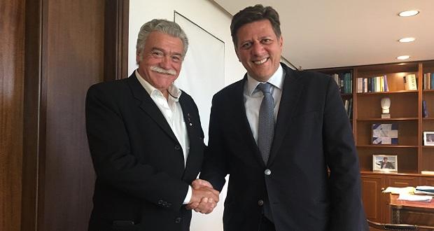 Ο πρόεδρος του ΚΙΣΕ κ. Σαλτιέλ συναντήθηκε με τον ΑΝΥΠΕΞ Μιλτιάδη Βαρβιτσιώτη…