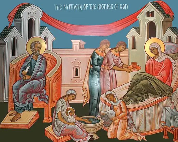 Γέννηση της Υπεραγίας Θεοτόκου – 9 Σεπτεμβρίου (Δείτε την  Θεία Λειτουργία)