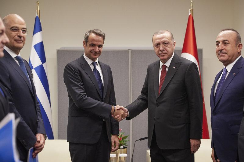 Τι συζήτησαν Μητσοτάκης και Ερντογάν – Ενεργοποίηση του Ανώτατου Συμβουλίου Συνεργασίας