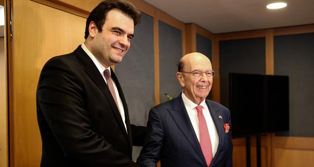 Πιερρακάκης: Μιλήσαμε με τον κ. Ρος για το αναδυόμενο οικοσύστημα καινοτομίας της χώρας μας