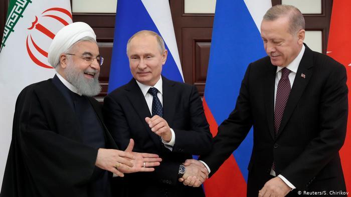 Επαφές Πούτιν-Ερντογάν-Ροχανί για Συρία