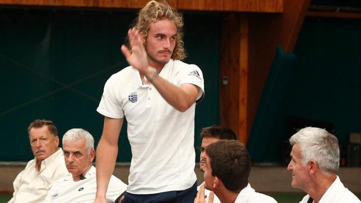 Ώρα…Ελλάδας με Τσιτσιπά στο Davis Cup! – Λ. Αυγενάκης: «Είναι η αρχή για ακόμη μεγαλύτερες διοργανώσεις του τένις»