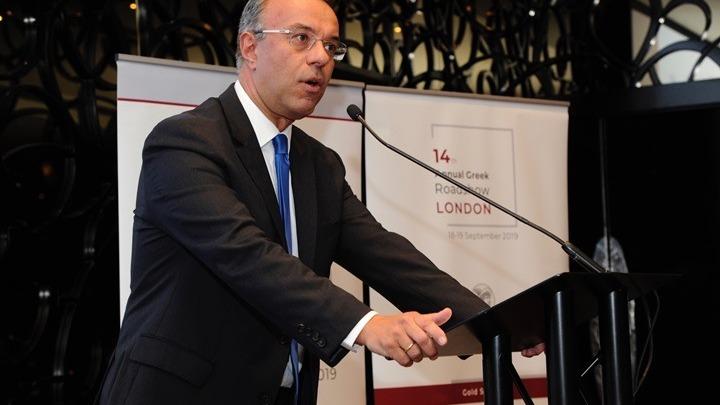 Να επενδύσουν στην Ελλάδα κάλεσε τους συνέδρους του 14ου Annual Roadshow στο Λονδίνο, ο Χρ. Σταϊκούρας