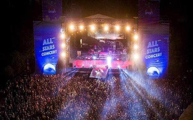 Αll Stars Concert: Σάκης Ρουβάς, Έλενα Παπαρίζου και Ελένη Φουρέιρα ξεσήκωσαν περισσότερους από 12.000 θεατές στο Μarkopoulo Park – Δείτε τι έγινε στο show της χρονιάς από τον ΟΠΑΠ