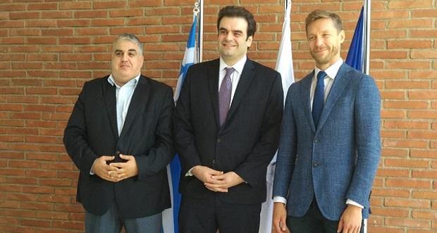 Επίσκεψη του Υπουργού Ψηφιακής Διακυβέρνησης Κυριάκου Πιερρακάκη στα γραφεία του ENISA