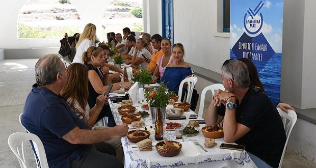 Η πρωτοβουλία ΕΛΛΑ-ΔΙΚΑ ΜΑΣ «ταξίδεψε» για δεύτερη χρονιά στην Αμοργό για το Authentic Big Blue