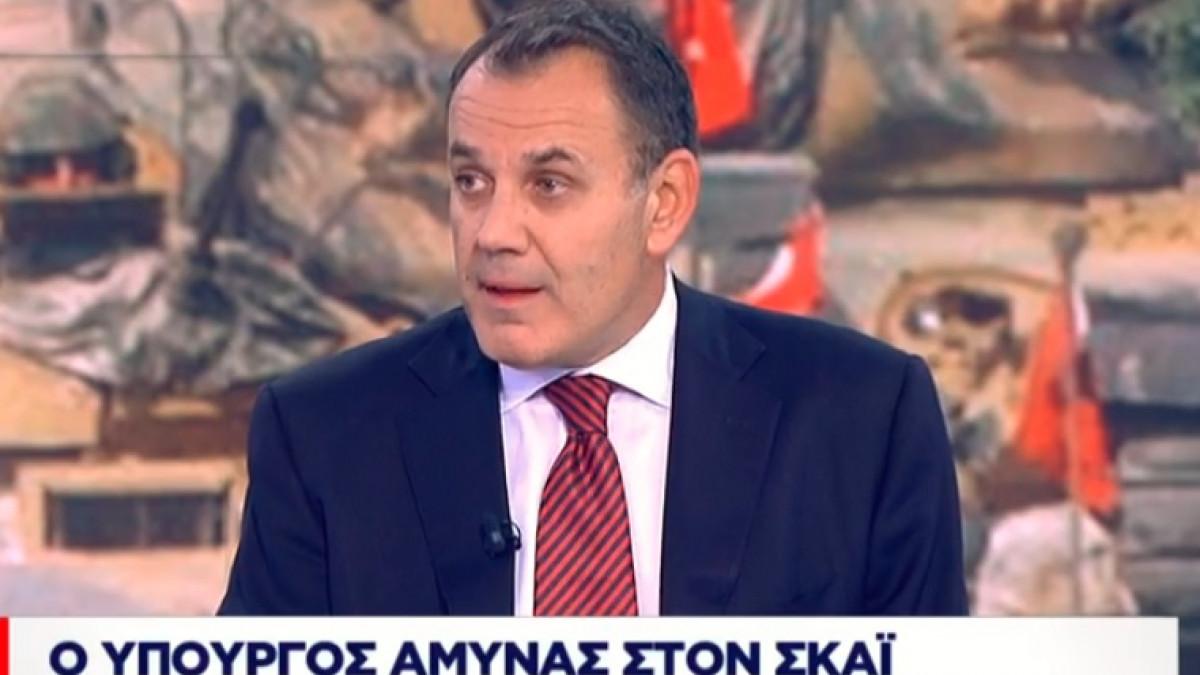 Παναγιωτόπουλος στον ΣΚΑΪ: Γαλλική φρεγάτα στο τεμάχιο 7 – Πιθανόν και ιταλική
