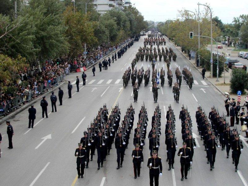 Στρατιωτική παρέλαση 28ης Οκτωβρίου -Live από τη Θεσσαλονίκη