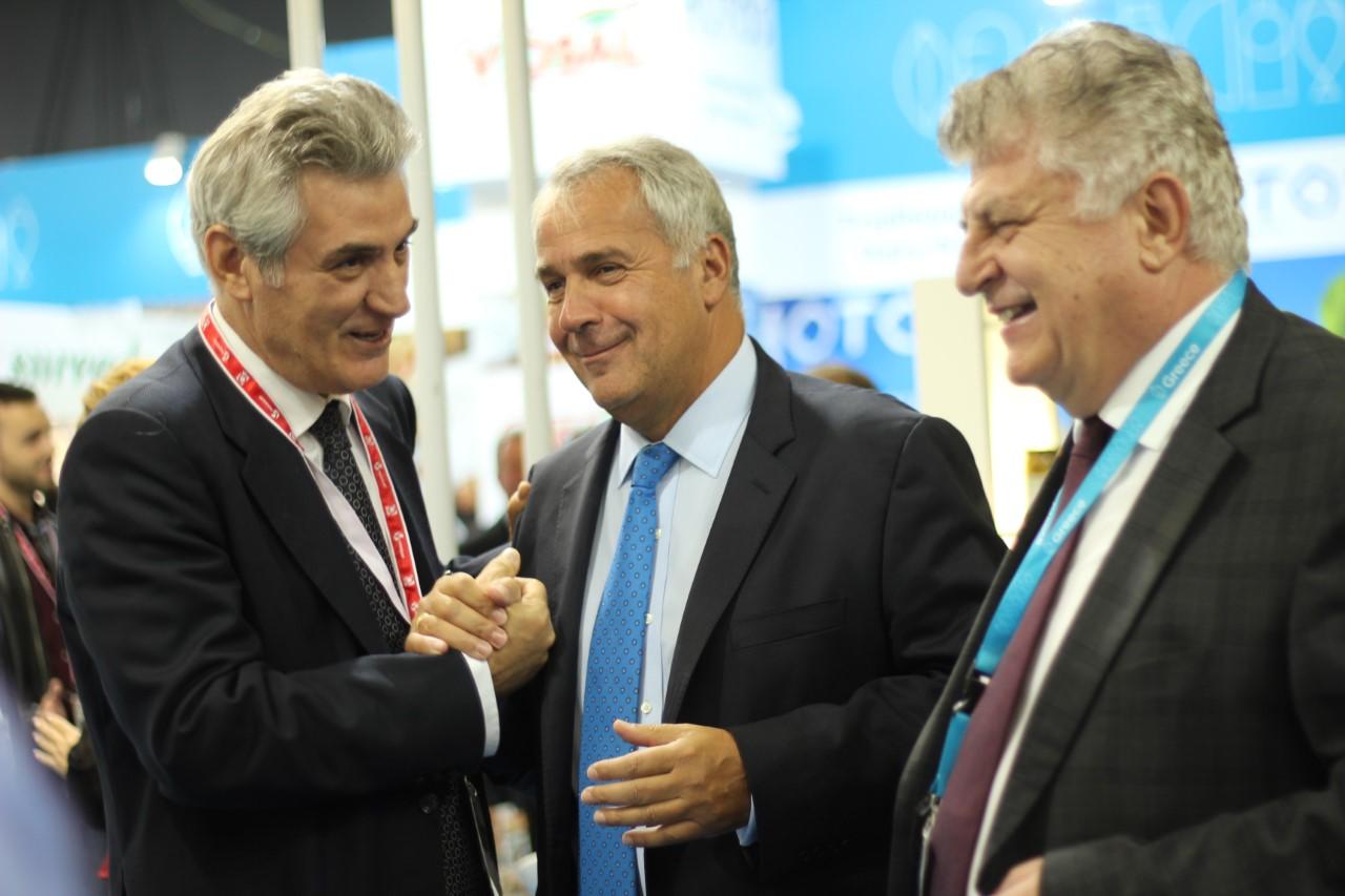 Anuga 2019: Εξωστρέφεια, ανάδειξη των ελληνικών προϊόντων και δασμοί των ΗΠΑ στο επίκεντρο της επίσκεψης Βορίδη