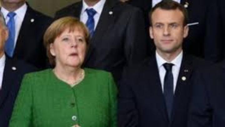 Μακρόν και Μέρκελ καλούν την Τουρκία να τερματίσει την επίθεση στην Συρία