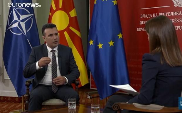 Ζάεφ: Το «όχι» στις ενταξιακές διαπραγματεύσεις επηρεάζει τη Συμφωνία των Πρεσπών