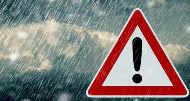 Έκτακτο δελτίο επιδείνωσης καιρού – ισχυρές βροχές, καταιγίδες, χαλαζοπτώσεις και θυελλώδεις άνεμοι