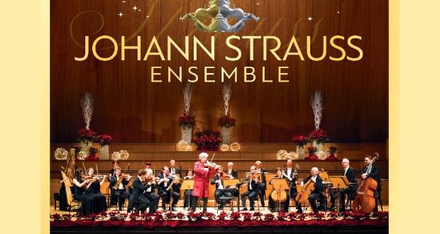 JOHANN STRAUSS ENSEMBLE Βιεννέζικα βαλς στη Xριστουγεννιάτικη Αθήνα