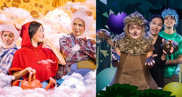 «Μια Ζαχαρένια Συνταγή» και «Το αγόρι με τα μπλε μαλλιά» με Διερμηνεία στην Ελληνική Νοηματική Γλώσσα στο Θέατρο Φούρνος