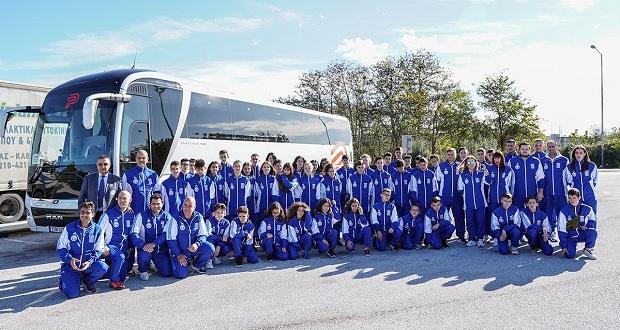 Πρόγραμμα «Υποστηρίζω τον αθλητή μου»: Στην Βουλγαρία για το 10th Hereya Open η επίλεκτη ομάδα της ΕΤΑΝΕ