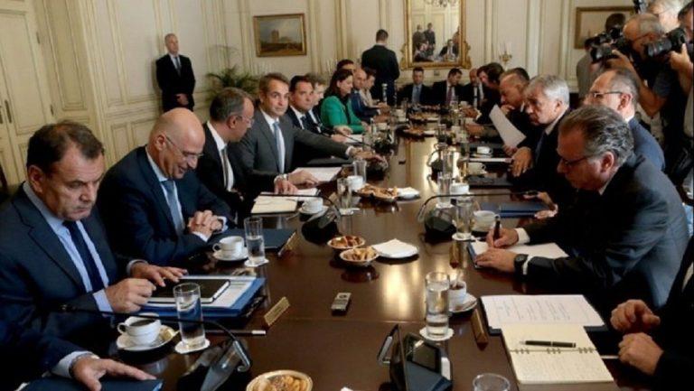 Πλούσια η ατζέντα στο υπουργικό της Πέμπτης – Αποφασίζει για τον νέο πρόεδρο του ΣτΕ