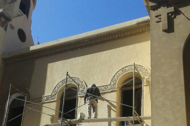 Νέα πνοή στον ιστορικό ναό των Ταξιαρχών δίνει η Ελληνική Κοινότητα Αλεξανδρείας