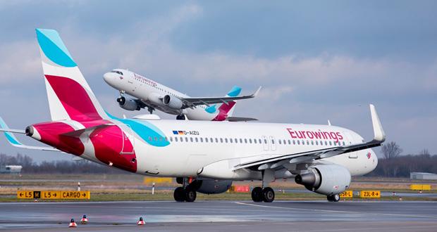 Νέες απευθείας πτήσεις της Eurowings στην Ελλάδα το καλοκαίρι του 2020