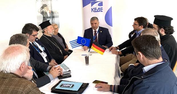 Συνάντηση του Περιφερειάρχη Αττικής Γ. Πατούλη με έλληνες ομογενείς της Γερμανίας