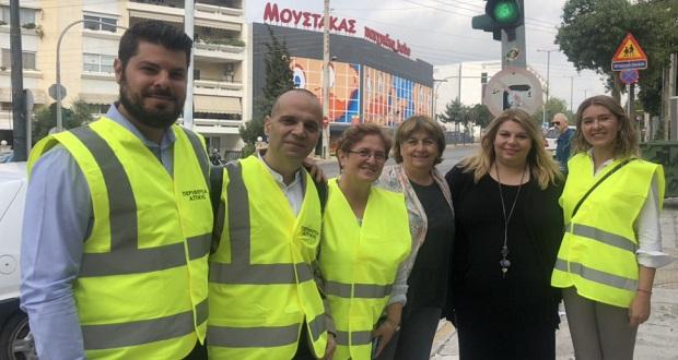 Σε εφαρμογή η υλοποίηση του στρατηγικού σχεδιασμού της Περιφέρειας Αττικής για την οδική ασφάλεια και τη βιώσιμη κινητικότητα στα σχολεία