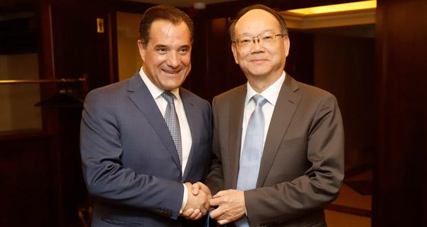 Προσκλητήριο στην Κίνα για είσοδο σε 14 ελληνικές επιχειρήσεις – Συνάντηση Γεωργιάδη με Κινέζους επιχειρηματίες του τομέα της ένδυσης – κλωστοϋφαντουργίας – βάμβακος