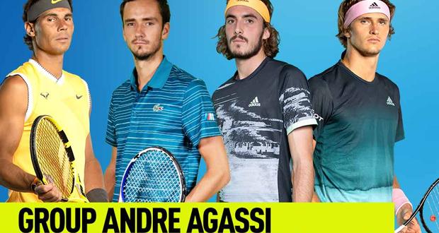 ATP Finals: Ο Τσιτσιπάς απέναντι σε Ναδάλ, Μεντβέντεφ και Ζβέρεφ