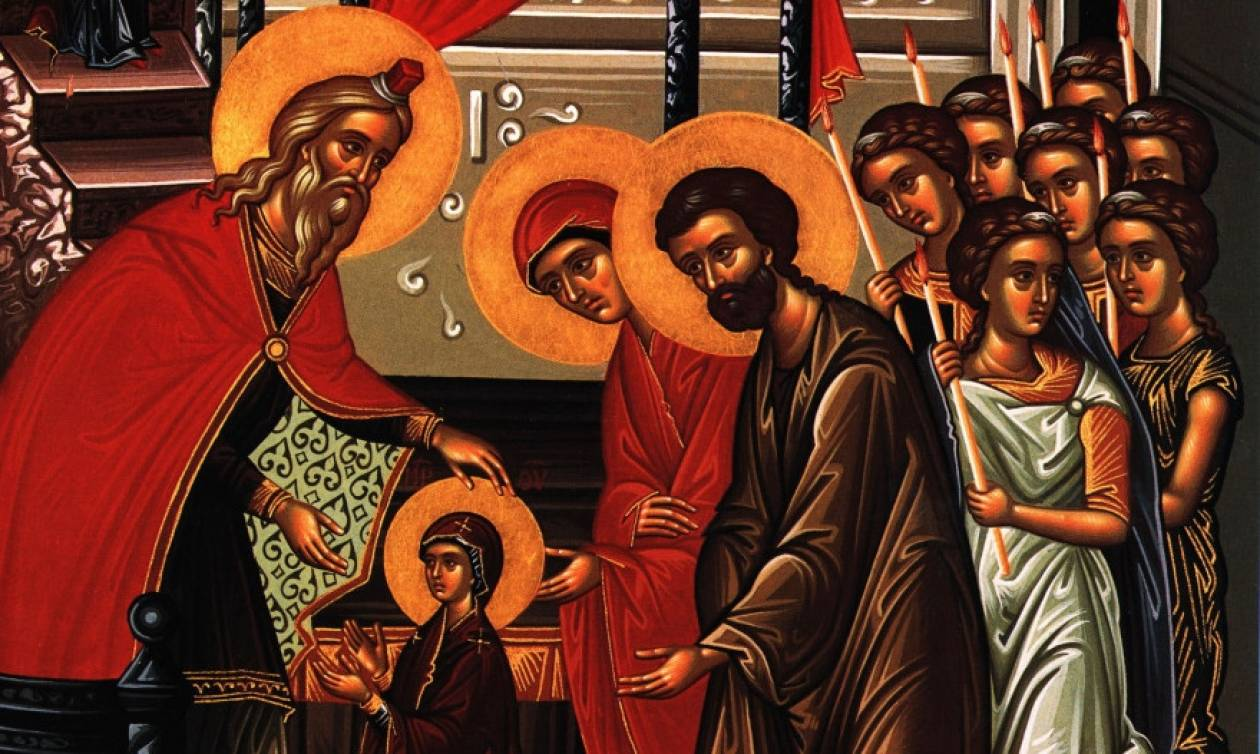 Live: Τα Εισόδια της Θεοτόκου – 'Ορθρος και Θεία Λειτουργία