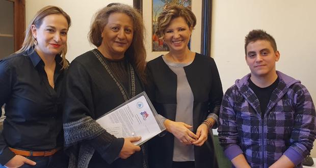 Συνάντηση Όλγας Γεροβασίλη με το Σωματείο Υποστήριξης Διεμφυλικών