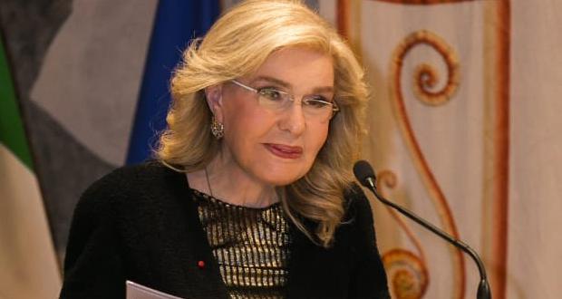 Ομιλία της Μαριάννας Β. Βαρδινογιάννη στην Ιταλική Γερουσία