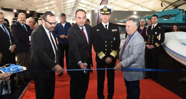 Ο Υπ. Ναυτιλίας και Νησιωτικής Πολιτικής κ. Γ. Πλακιωτάκης εγκαινίασε το 16ο Ναυτικό Σαλόνι