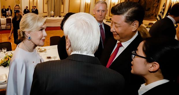 H Μαριάννα Β. Βαρδινογιάννη ενημέρωσε τον Πρόεδρο της Κίνας για την συνεργασία της Ογκολογικής Μονάδας Παίδων με το Νοσοκομείο Παίδων του Πεκίνου