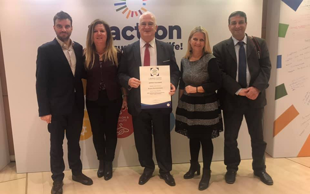 Βραβείο για το ΣΒΑΚ στον Δήμο Παλλήνης